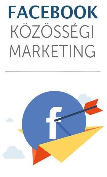 Facebook közösségi marketing